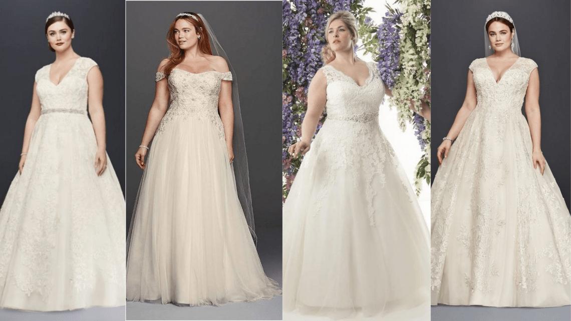 70 Elegant Ball Gown Wedding Dresses For Plus Size