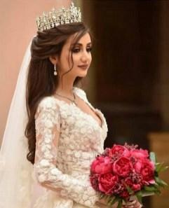 70 Elegant Bridal Crown Wedding Ideas 37