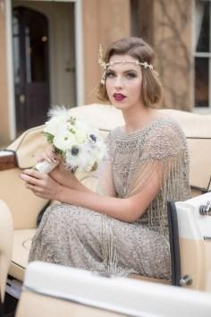 70 Gatsby Glamour Wedding Dresses Ideas 02