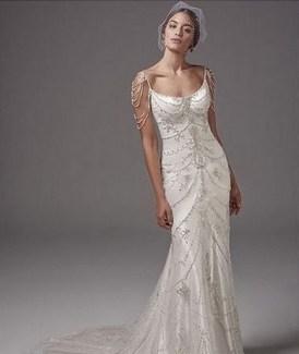 70 Gatsby Glamour Wedding Dresses Ideas 30