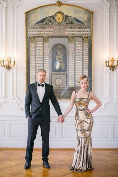 70 Gatsby Glamour Wedding Dresses Ideas 40