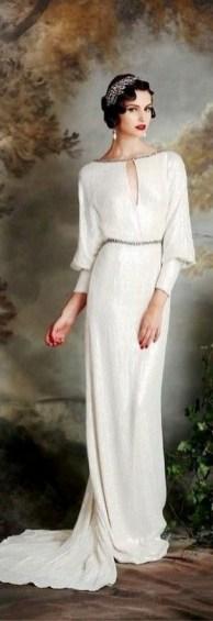 70 Gatsby Glamour Wedding Dresses Ideas 41