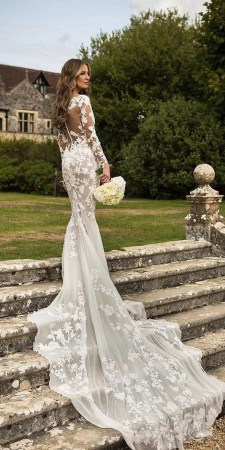 70 Long Sleeve Lace Wedding Dresses Ideas 02