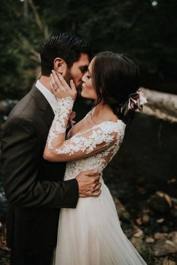 70 Long Sleeve Lace Wedding Dresses Ideas 07