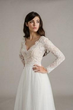 70 Long Sleeve Lace Wedding Dresses Ideas 10