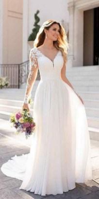 70 Long Sleeve Lace Wedding Dresses Ideas 14