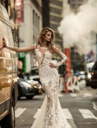 70 Long Sleeve Lace Wedding Dresses Ideas 17