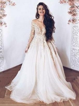 70 Long Sleeve Lace Wedding Dresses Ideas 20