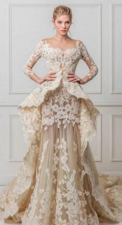 70 Long Sleeve Lace Wedding Dresses Ideas 27