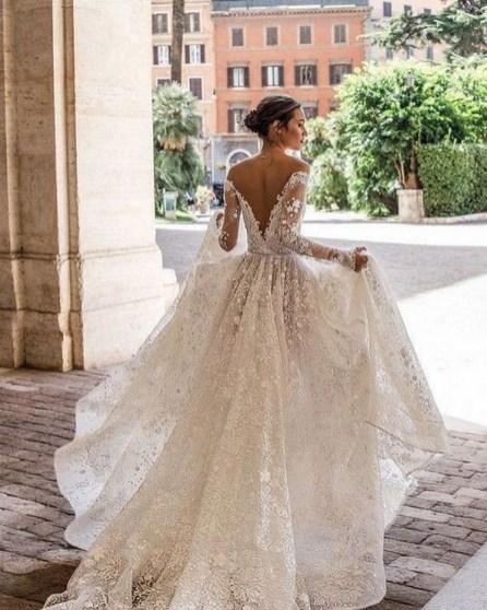 70 Long Sleeve Lace Wedding Dresses Ideas 33