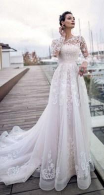 70 Long Sleeve Lace Wedding Dresses Ideas 40