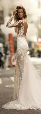 70 Long Sleeve Lace Wedding Dresses Ideas 42