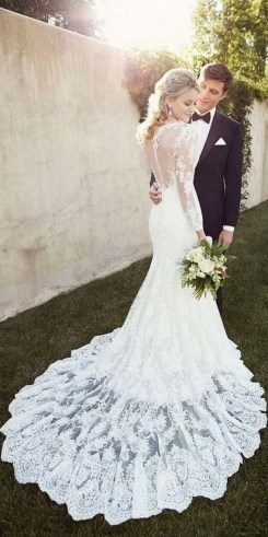 70 Long Sleeve Lace Wedding Dresses Ideas 54