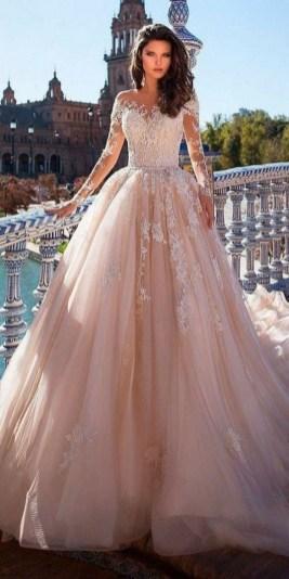 70 Long Sleeve Lace Wedding Dresses Ideas 68