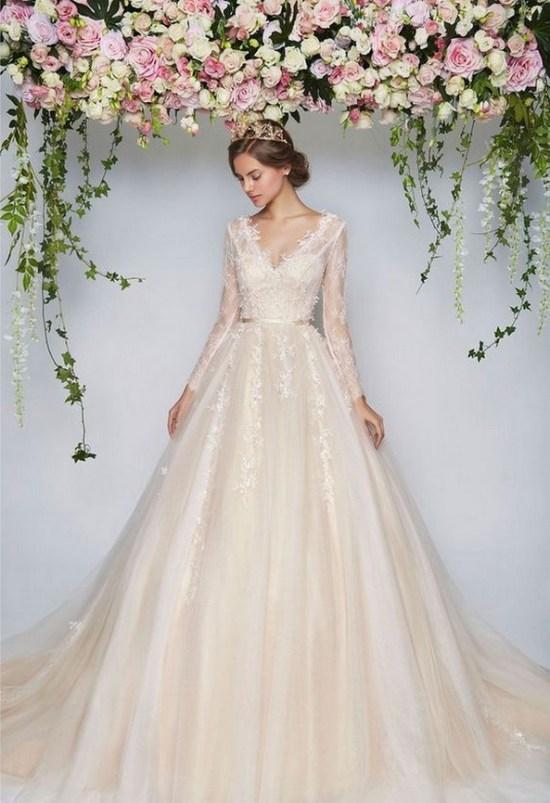 70 Long Sleeve Lace Wedding Dresses Ideas 73