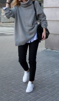 75 How to Wear Sweater for Working Women 04