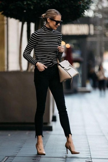 75 How to Wear Sweater for Working Women 45