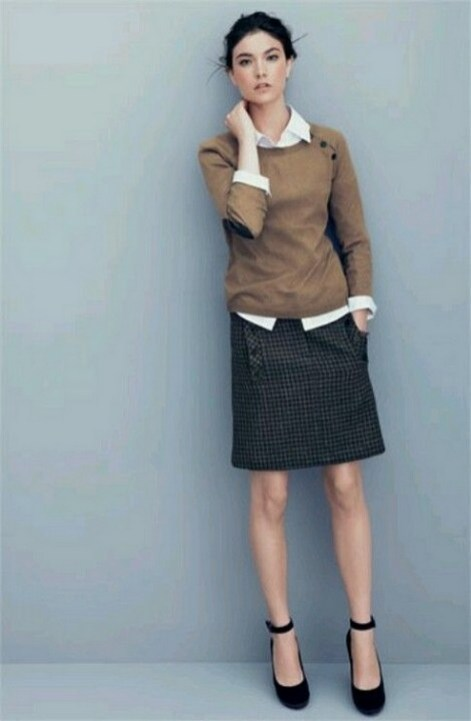 75 How to Wear Sweater for Working Women 70
