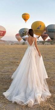 80 Adorable V Shape Back Wedding Dresses You Need to See 15