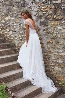 80 Adorable V Shape Back Wedding Dresses You Need to See 2