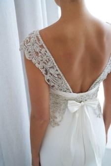 80 Adorable V Shape Back Wedding Dresses You Need to See 21