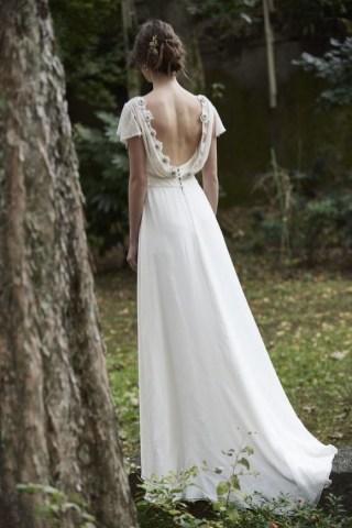 80 Adorable V Shape Back Wedding Dresses You Need to See 33