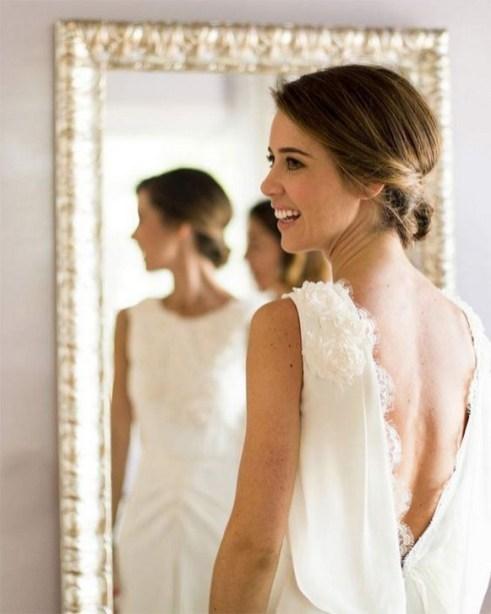 80 Adorable V Shape Back Wedding Dresses You Need to See 34