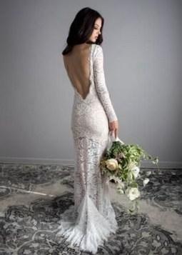 80 Adorable V Shape Back Wedding Dresses You Need to See 51