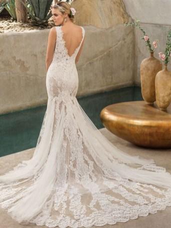 80 Adorable V Shape Back Wedding Dresses You Need to See 57