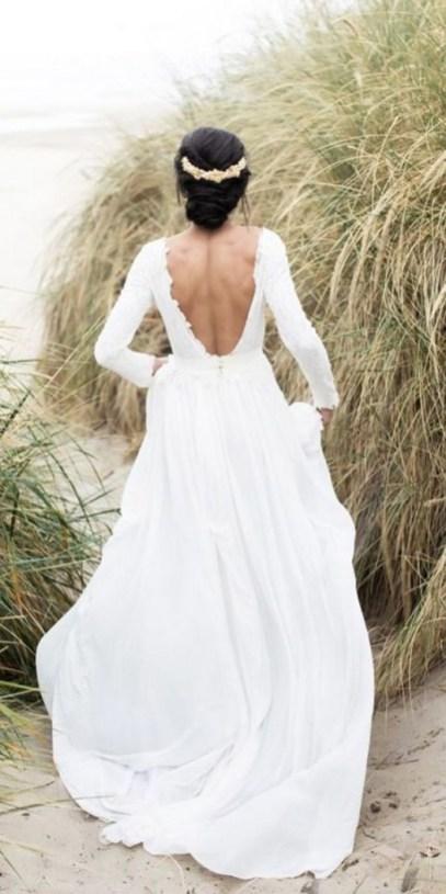 80 Adorable V Shape Back Wedding Dresses You Need to See 63