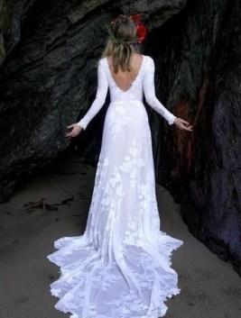 80 Adorable V Shape Back Wedding Dresses You Need to See 81