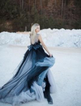 80 Colorful Wedding Dresses Ideas 13