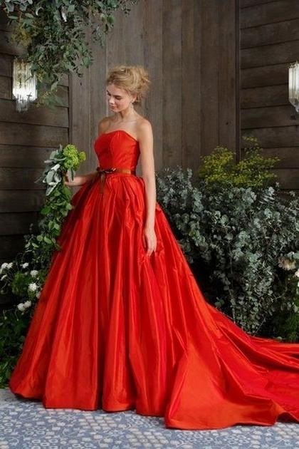 80 Colorful Wedding Dresses Ideas 14