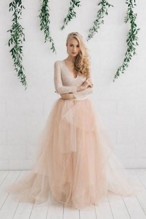 80 Colorful Wedding Dresses Ideas 16
