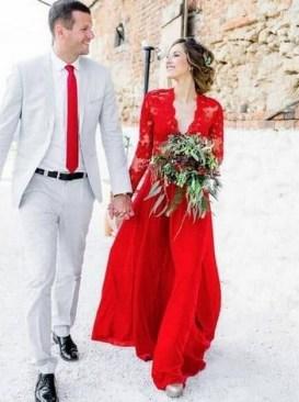 80 Colorful Wedding Dresses Ideas 18