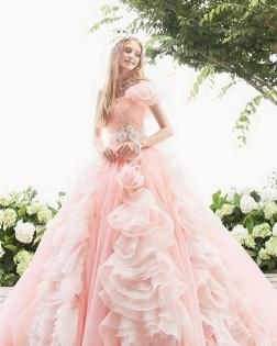 80 Colorful Wedding Dresses Ideas 23