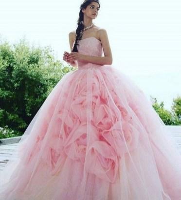 80 Colorful Wedding Dresses Ideas 37