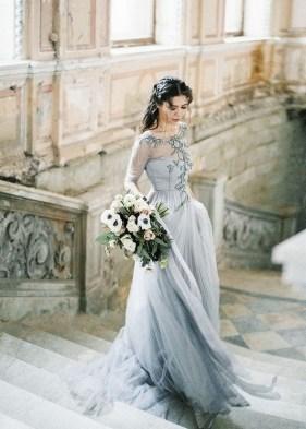 80 Colorful Wedding Dresses Ideas 44