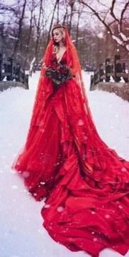 80 Colorful Wedding Dresses Ideas 50
