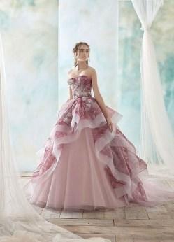 80 Colorful Wedding Dresses Ideas 69
