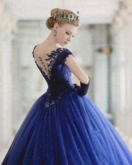 80 Colorful Wedding Dresses Ideas 76