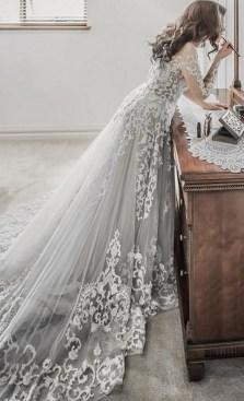 80 Colorful Wedding Dresses Ideas 77