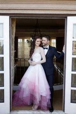 80 Colorful Wedding Dresses Ideas 78