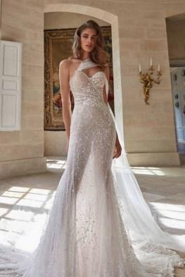 80 Inspiring Beautiful Sequin Bridal Gown 10