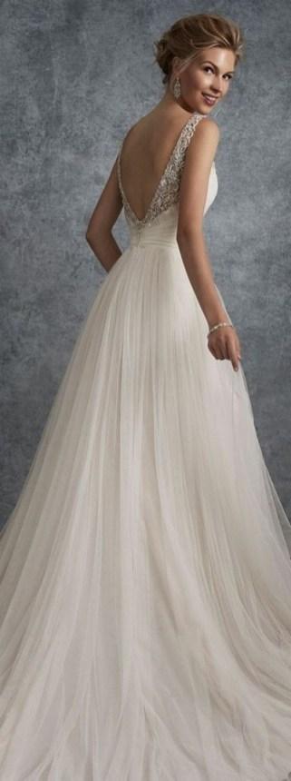 80 Inspiring Beautiful Sequin Bridal Gown 13