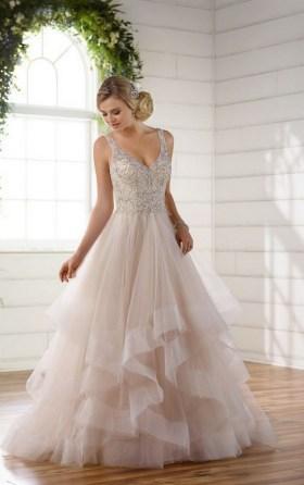 80 Inspiring Beautiful Sequin Bridal Gown 15