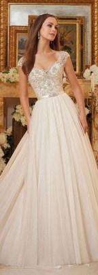 80 Inspiring Beautiful Sequin Bridal Gown 22