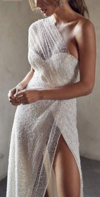 80 Inspiring Beautiful Sequin Bridal Gown 23