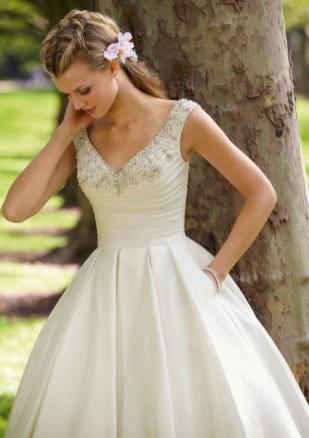 80 Inspiring Beautiful Sequin Bridal Gown 31