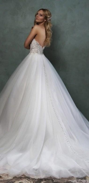 80 Inspiring Beautiful Sequin Bridal Gown 39